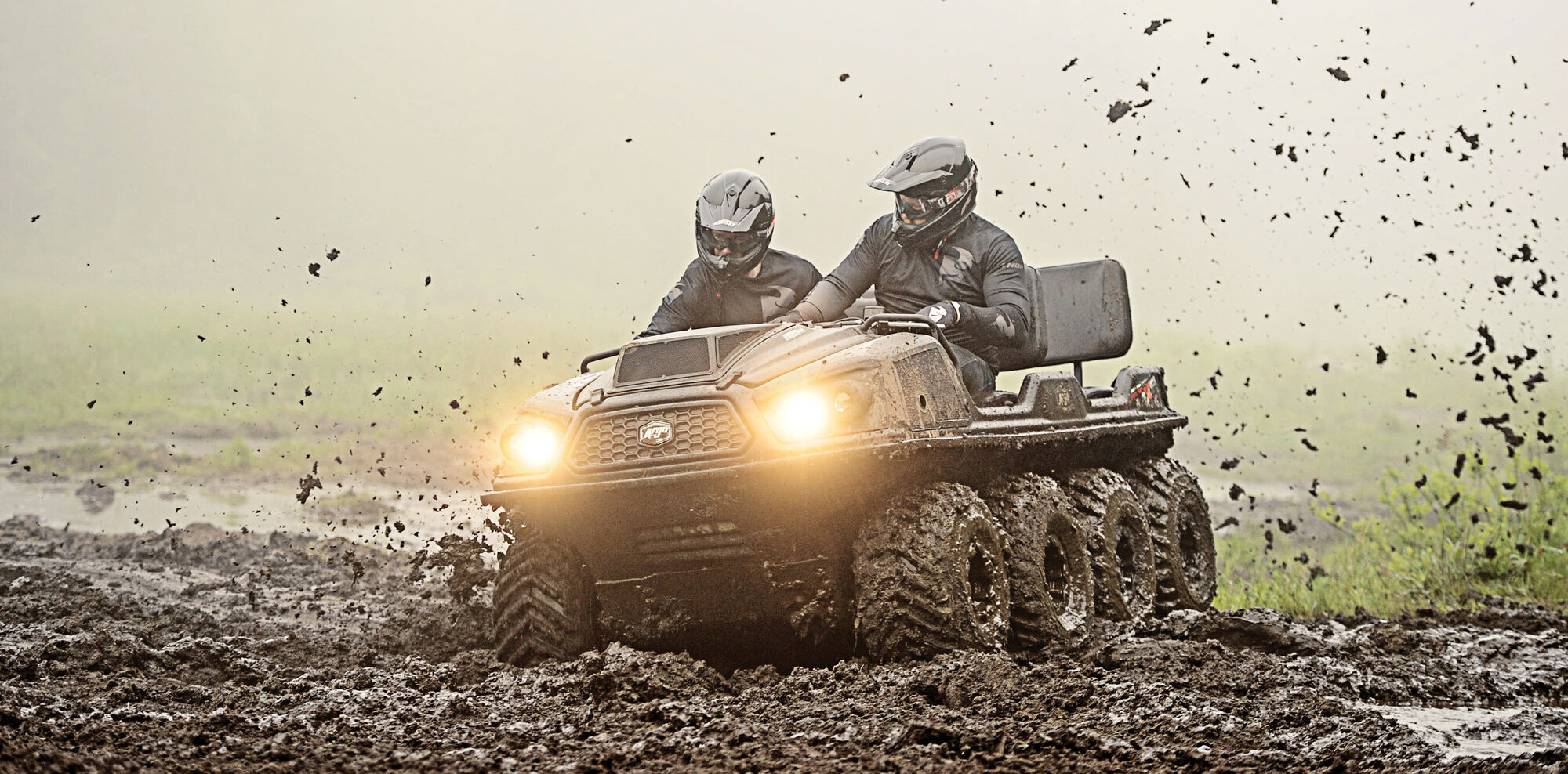 The amphibious ARGO is the essential off-road vehicle for